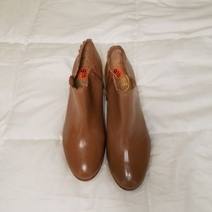 Jack Rogers Leather Ankle Boots
